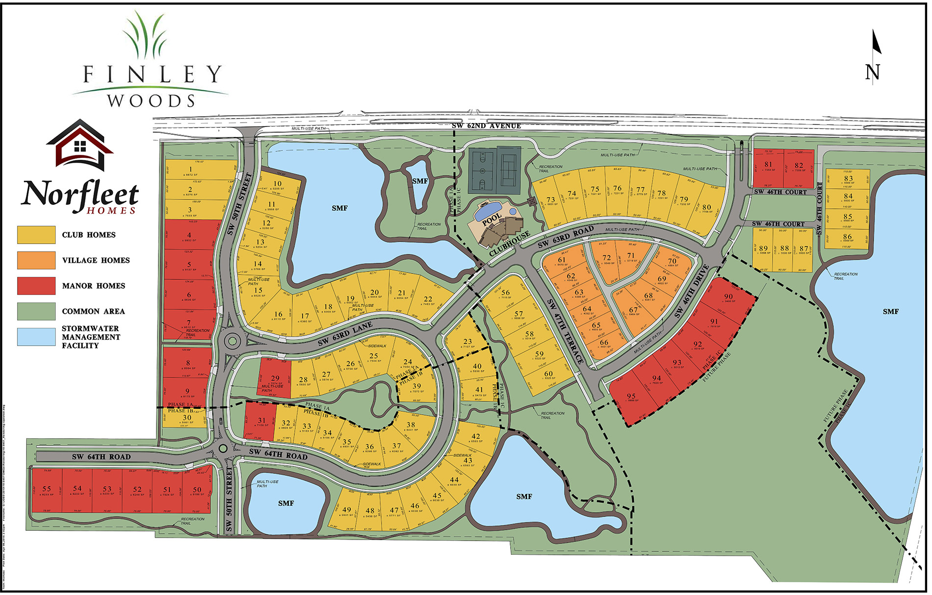 Finley Woods Norfleet Homes