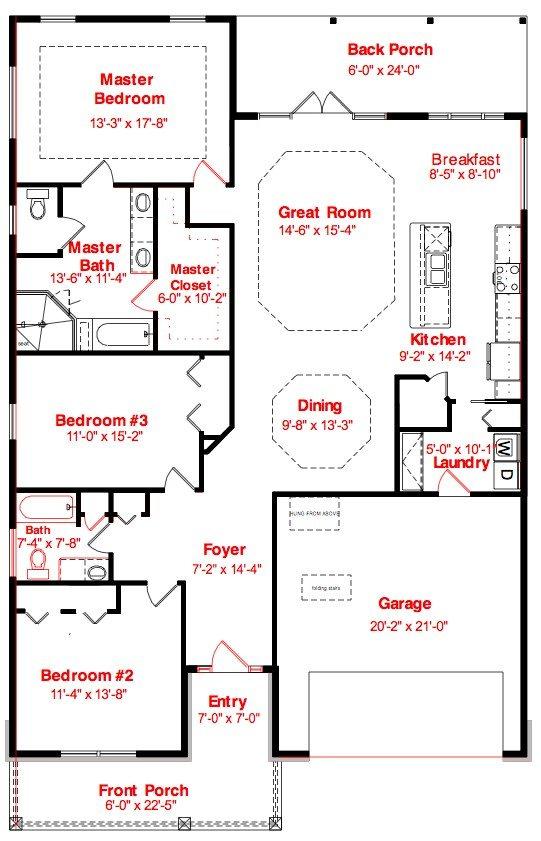 Finley Woods Floor Plans Norfleet Homes