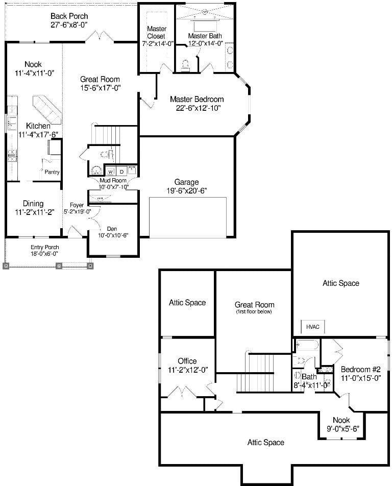 The cypress custom home plan.